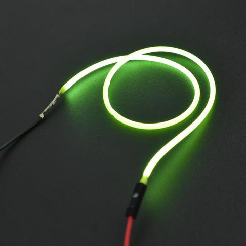 3V 260mm 柔性软灯丝(绿色)