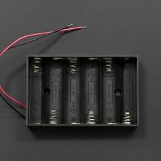 6节5号电池盒(无插头)