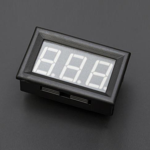LED直流电流表 50A 绿色