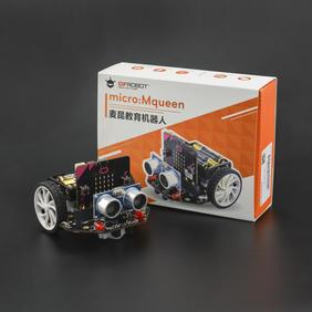 DFRobot智能机器人-麦昆: micro:bit教育机器人 V3.0(含主板|遥控手柄|红外遥控)