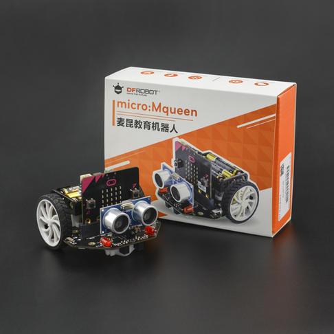 麦昆: micro:bit教育机器人 V3.0(含主板|红外遥控|含USB线)