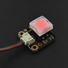 新品-Gravity: 带LED灯的数字按键  红色