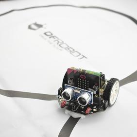 micro:bit麦昆编程机器人小车巡线地图