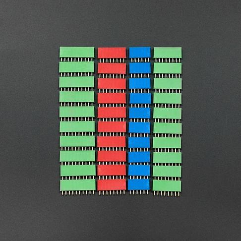 RGB 彩色排母
