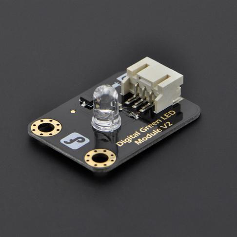 数字绿色LED发光模块(Arduino兼容)