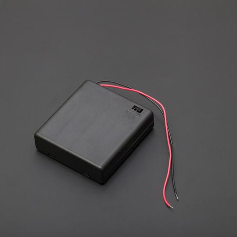4节5号封闭式电池盒