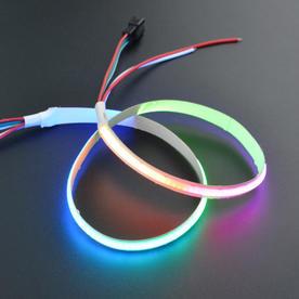 DFRobot创客商城新品推荐5V RGB可编程柔性灯带(50cm)