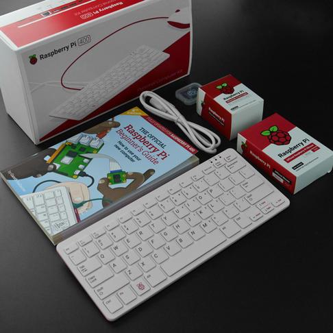 Raspberry Pi 400键盘电脑一体机套件