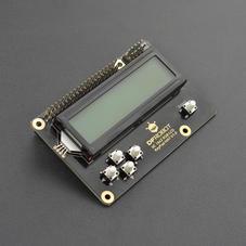 树莓派RGB LCD1602 按键扩展板 彩色底