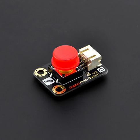 Gravity: 数字大按钮模块 红色