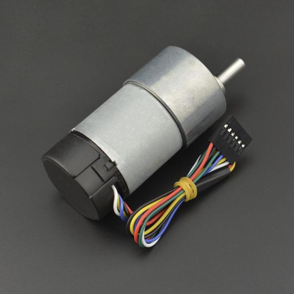 电机热卖推荐-12V 直流减速电机251rpm 带编码器