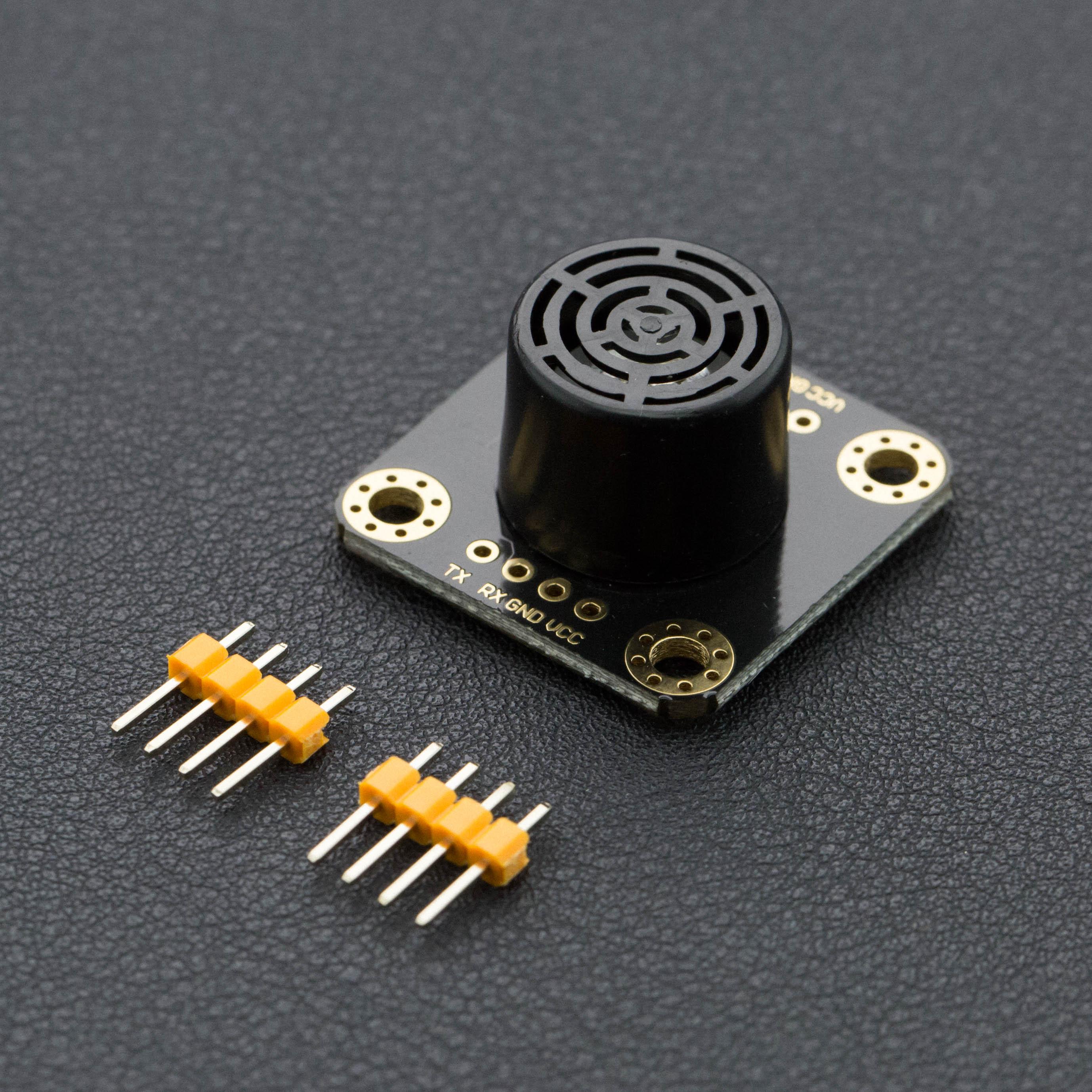 超声波传感器热卖推荐-URM07-UART低功耗超声波测距模块