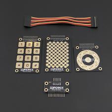交互传感器-Touch Kit 电容触摸板套件 Arduino兼容