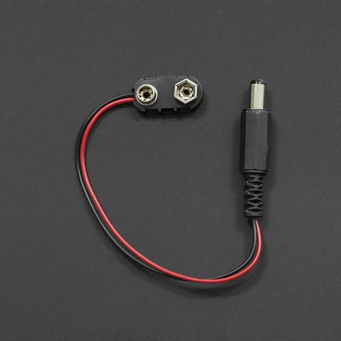 优质硬壳9V电池扣