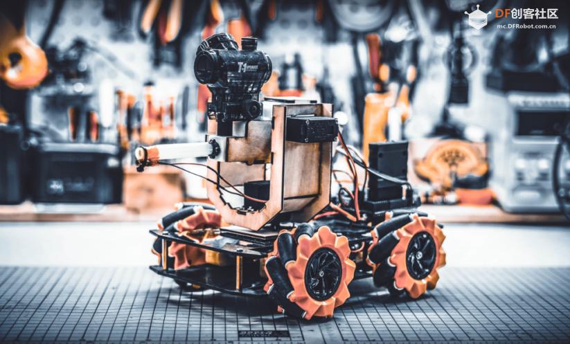 DFRobot创客社区热门项目Maker-T教你从零制造一台麦轮战车!