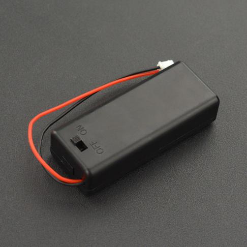 2节七号带盖带开关电池盒