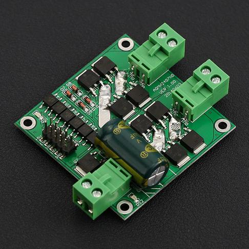 12/24V 7A 160W双路直流电机驱动模块