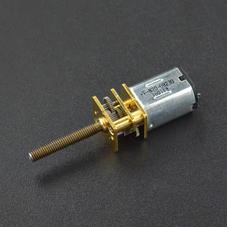 舵机/电机/电机驱动-金属减速螺纹丝杆电机 (6V 98RPM M3*20)
