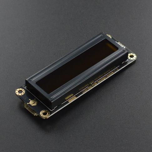 Gravity: I2C LCD1602 RGB彩色字体液晶屏