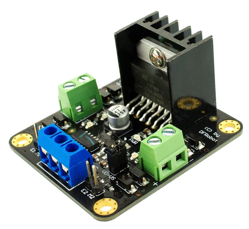 直流電機驅動熱賣推薦-L298N直流電機驅動模塊DF-MD V1.3