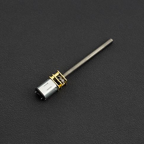 金属减速螺纹丝杆电机 (6V 150RPM M4*55)