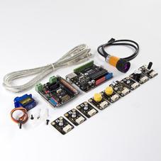 Arduino學習套件-Gravity:Ardublock編程積木入門套裝(圖型化編...