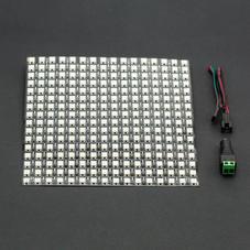 灯带/点阵屏-16x16 RGB全彩LED柔性点阵屏