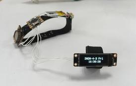 用0.91寸OLED做一个指环时钟