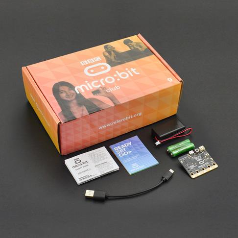 micro:bit Club 基础套装10套装(含电池盒与数据线)