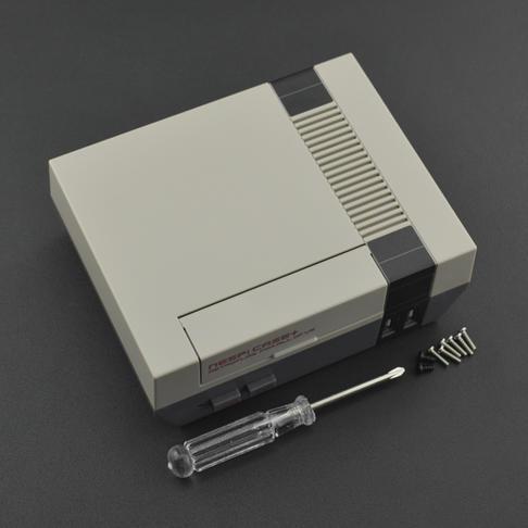 NES游戏机风格树莓派外壳 NESPi Case+(带转接板)