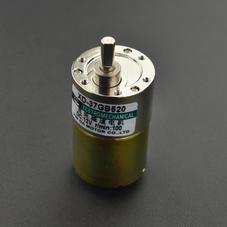 舵机/电机/电机驱动-金属直流减速电机(12V 100RPM 12kg.cm)