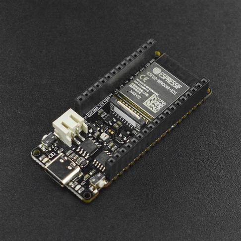 FireBeetle Board ESP32-E IoT开发板(预焊排母版)