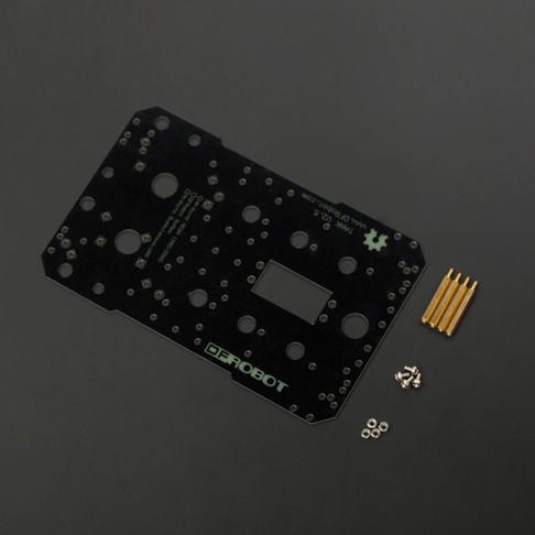 路虎5传感器安装板