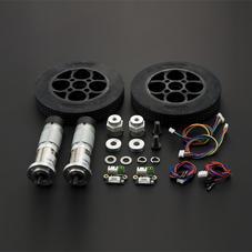功能组件-机器人轮子电机套件(10kg.cm)
