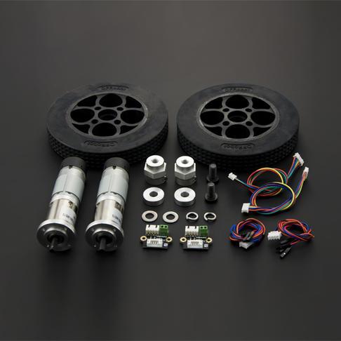 机器人轮子电机套件(10kg.cm)