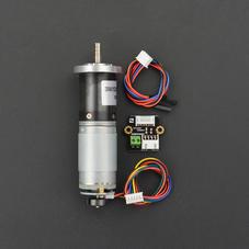 12V 直流减速电机143rpm 带编码器