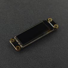 "LCD/LED/OLED显示屏-0.91""128x32 I2C OLED贴片焊盘单色显示屏"