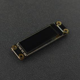 """DFRobot新品推荐-0.91""""128x32 I2C OLED贴片焊盘单色显示屏"""