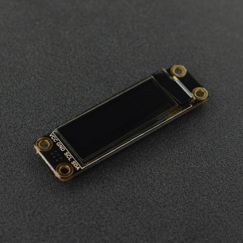 """0.91""""128x32 I2C OLED贴片焊盘单色显示屏"""