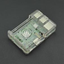 树莓派透明ABS外壳(适用于树莓派B+/2B/3B/3B+)