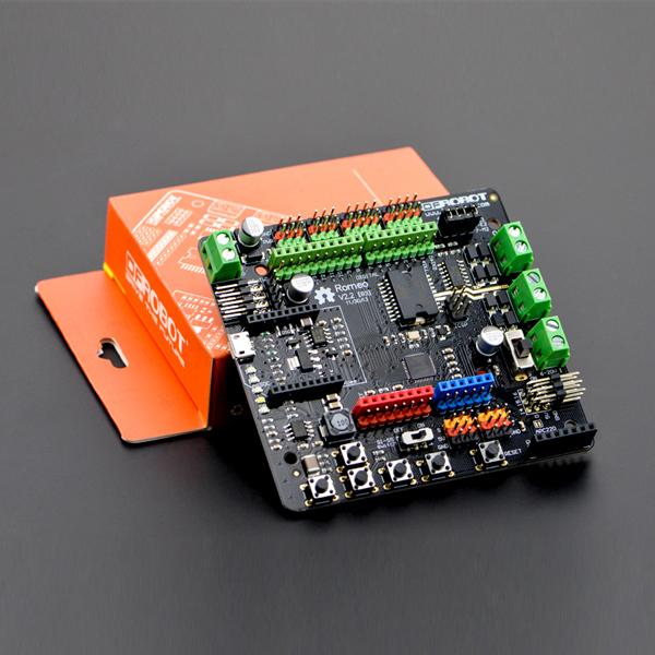 Arduino控制器热卖推荐-Romeo V2 多合一Arduino兼容控制器