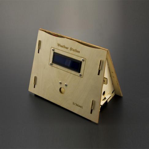 dfrobot的DIY智能气象站套件(官方教程完整版)搭配了空气质量传感器源码见官方教程
