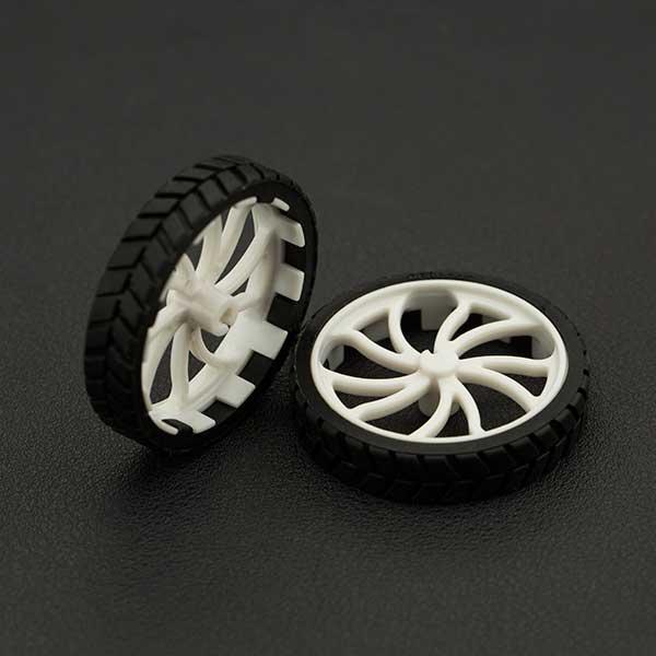 优质ABS橡胶轮(一对)