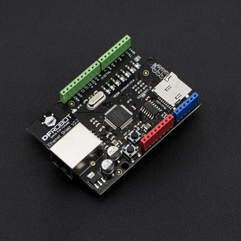 新版DFRduino Ethernet W5100(Arduino兼容)