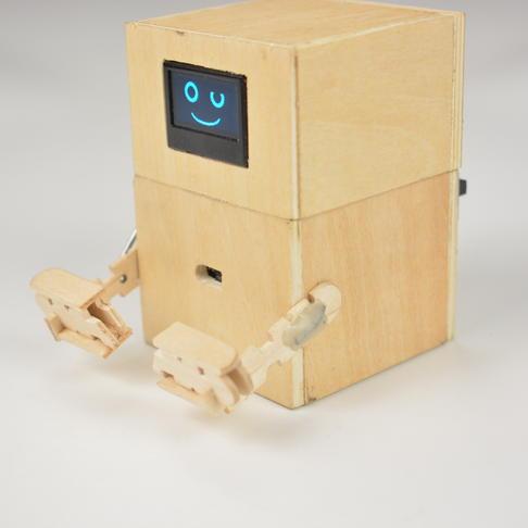 """""""吃""""钱币的机器人"""