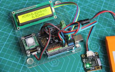 花10分钟DIY一个物联网甲醛监测装置
